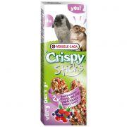 Tyčinky Crispy s lesním ovocem pro králíky a činčily 110g