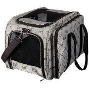 Trixie Cest.taška MAXIMA s extra lůžkovým prostorem 33 x 32 x 54 cm hnědo-béžová