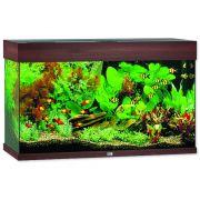 Akvárium set JUWEL Rio LED 125 tmavě hnědé 125l