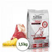 Platinum Natural Beef & Potato - HOVĚZÍ S BRAMBOREM 1,5 kg